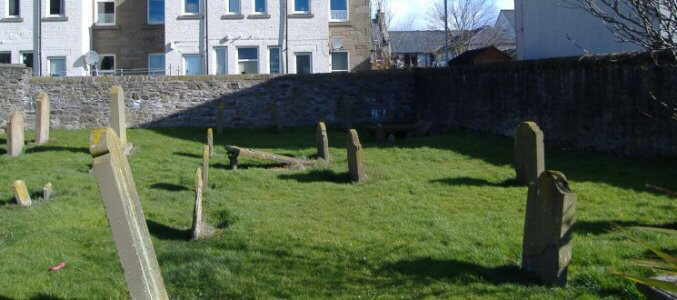 Old Burial Ground at Broughty Ferry, Dundee, Scotland