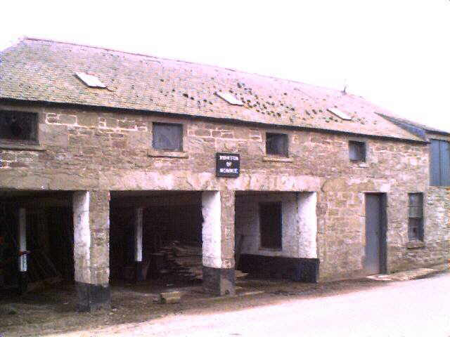 Farm Steading building at Kirkton of Monikie.